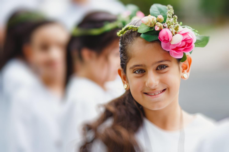 Renata, First communion